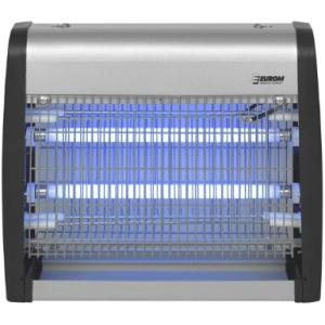 Euromac insectenlamp Fly Away Metal - 50 meter bereik - UV licht - Grijs
