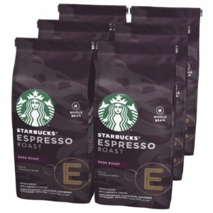 Starbucks Espresso Roast Dark Roast Koffiebonen - 6 x 200 gram