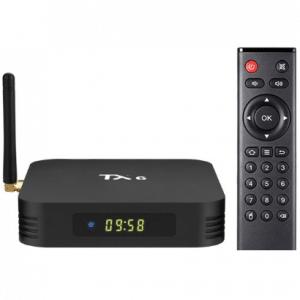 Tanix TX6 mediaspeler 4 32 GB KODI 18.4 Android tv box model 2020