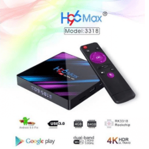 Vontar H96 Android 9.0 Tv Box 4K Kodi 18.4