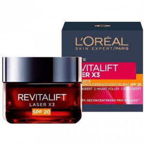 L'Oréal Paris Skin Expert Revitalift Laser X3 anti-rimpel dagcrème SPF 20