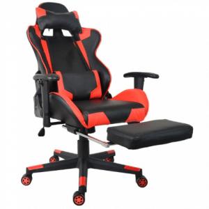 VDD Gaming Bureaustoel racing game chair style met voetsteun