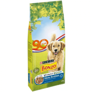 Bonzo VitaFit Menubrokken Adult - Kip en Groenten - 15 kg