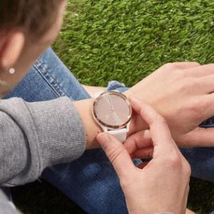 Garmin Vivomove HR - Hybride Smartwatch - 43 mm