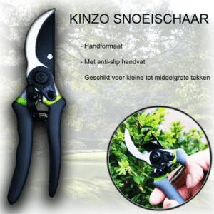 Kinzo Garden Snoeischaar 20 cm