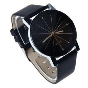 Luxueus zwart Horloge - Ø 31 mm