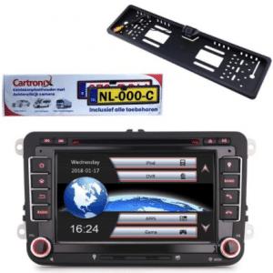 Cartronix RNS 510 Multimedia-autoradio voor Volkswagen Seat Skoda