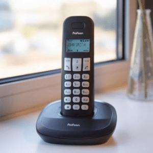 Profoon PDX-1120 Draadloze Dect Telefoon - 2 handposten