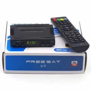 Freesat V7 HD 1080P DVB-S2 digitale TV BOX-ontvanger