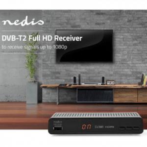 Nedis DVB-T2 Full HD-Ontvanger